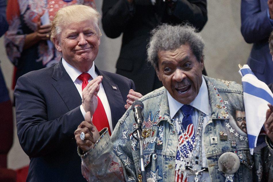 Donald Trump, Don King