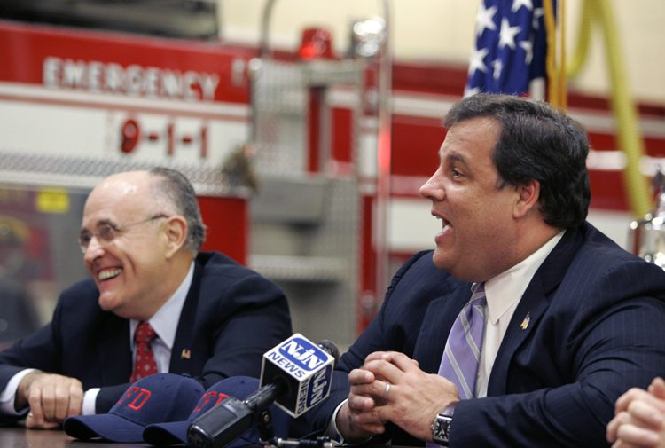 Christopher Christie, Rudy Giuliani