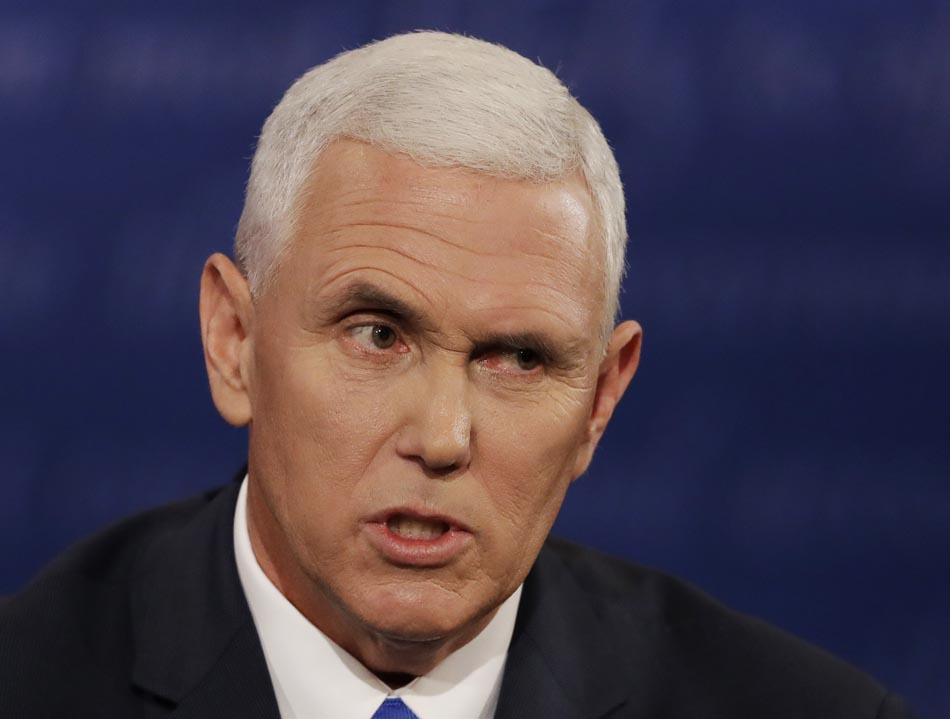 Campaign 2016 VP Debate Pence