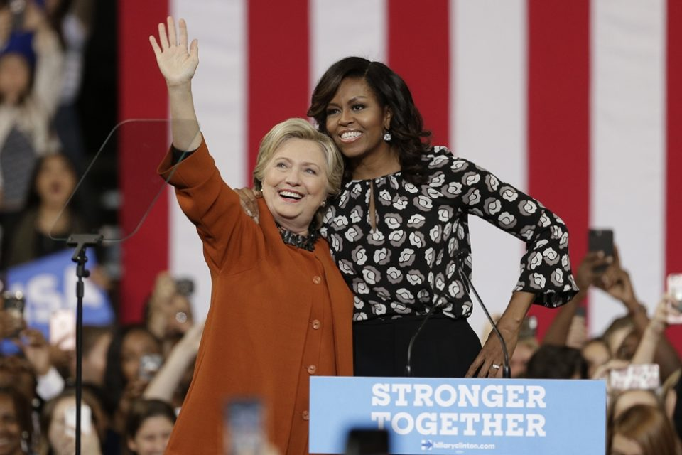 Feminist First Ladies join forces to defeat sexist Trump — what a time to be alive