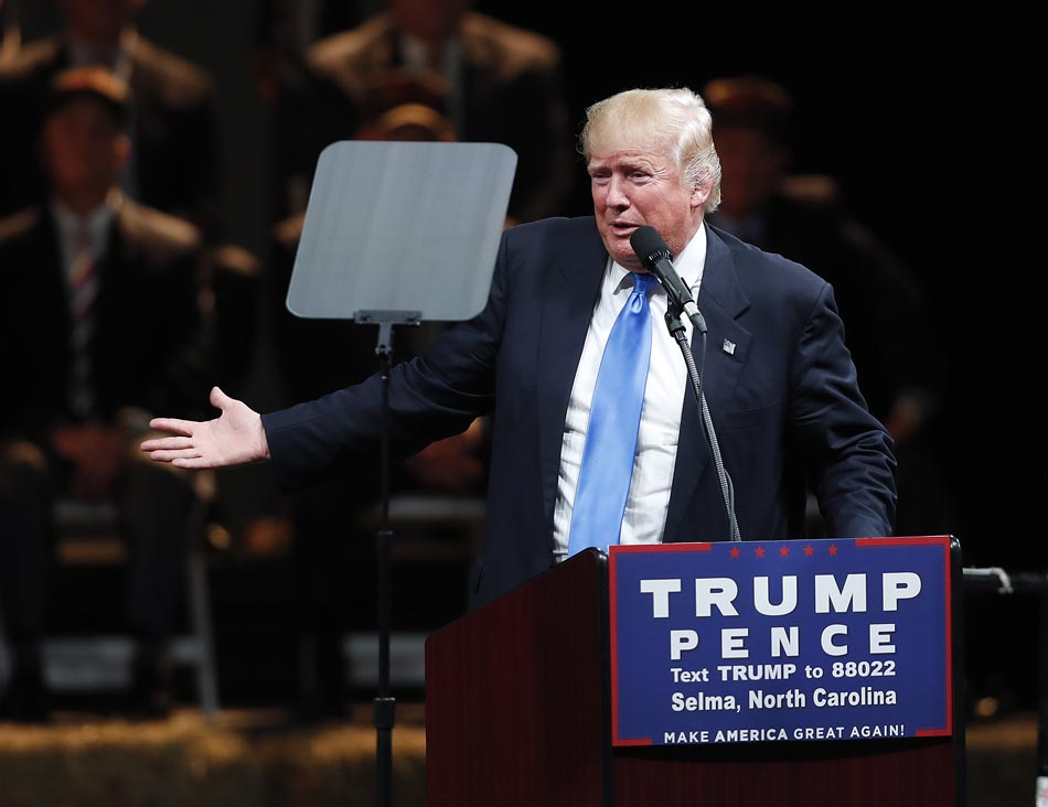 Trump's closing argument: A woman cannot be president