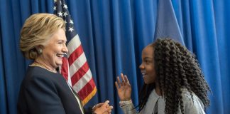 hrc with girl