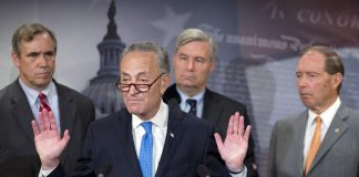 Charles Schumer,Jeff Merkley,Tom Udall,Sheldon Whitehouse