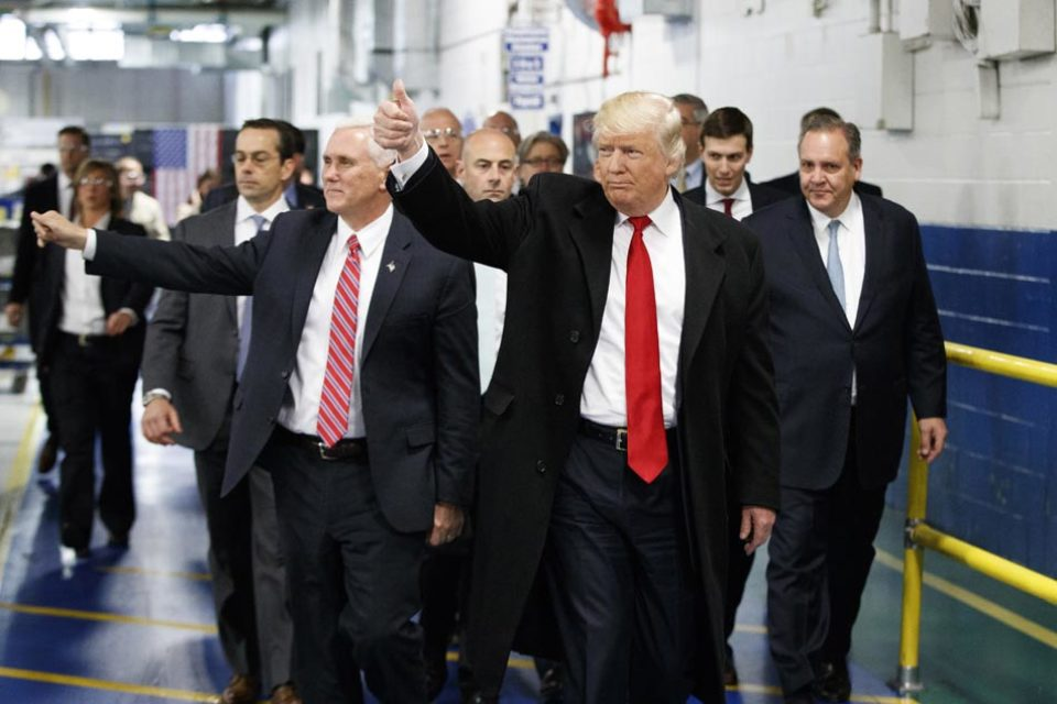 """Trump's """"Strategic and Policy Forum"""" includes only two women"""