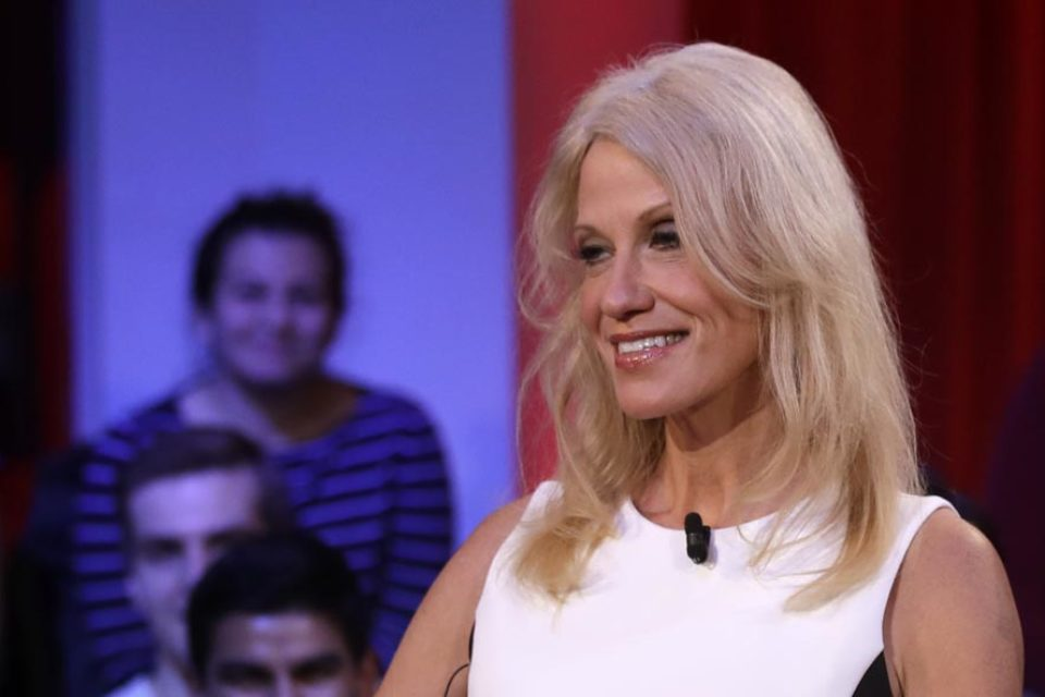 Warning: The corporate media is abetting Kellyanne Conway's lies about white supremacy
