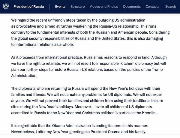 Putinstatement