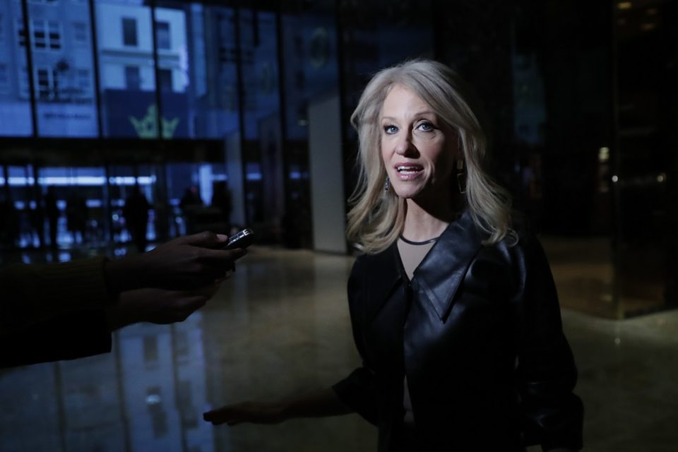 Kellyanne Conway reverses her position on Trump's tax returns twice in 24 hours