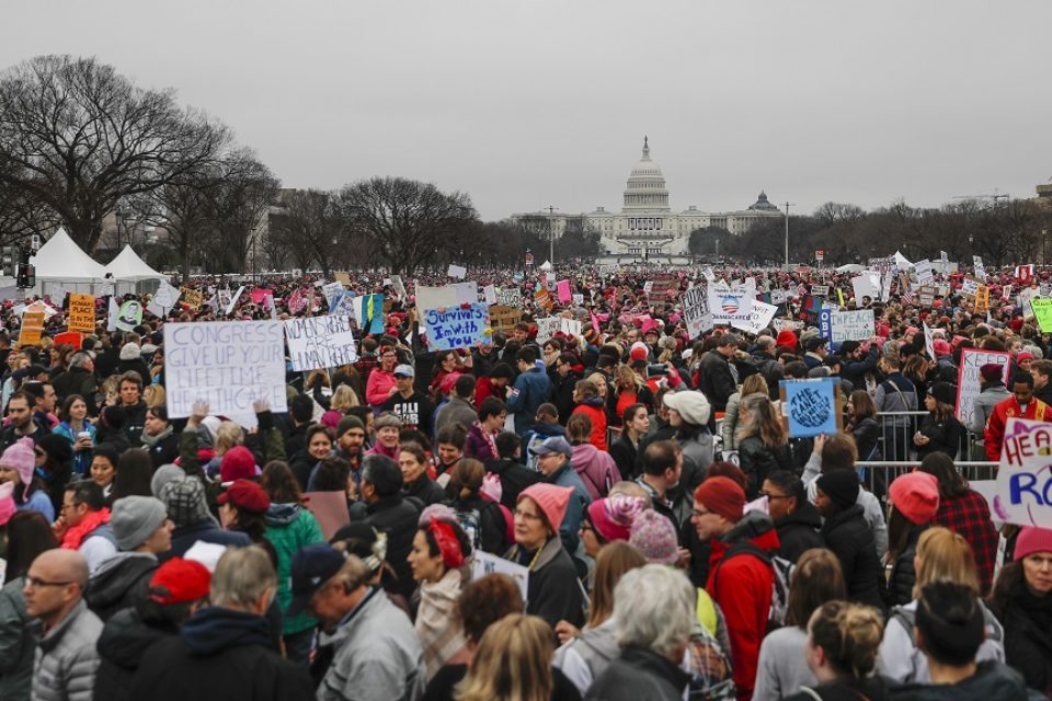 Women's Marches across the country display historic, massive resistance
