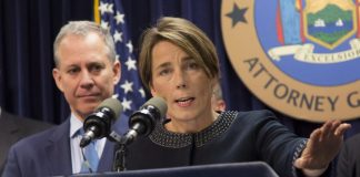 Maura Healey and Eric Schneiderman