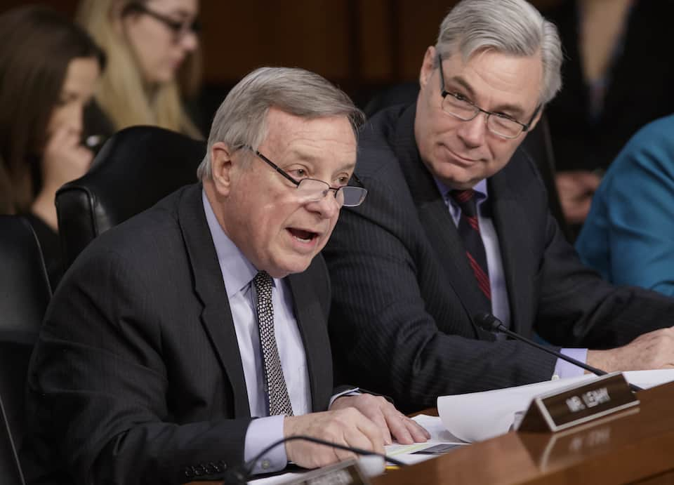 Richard Durbin,Sheldon Whitehouse