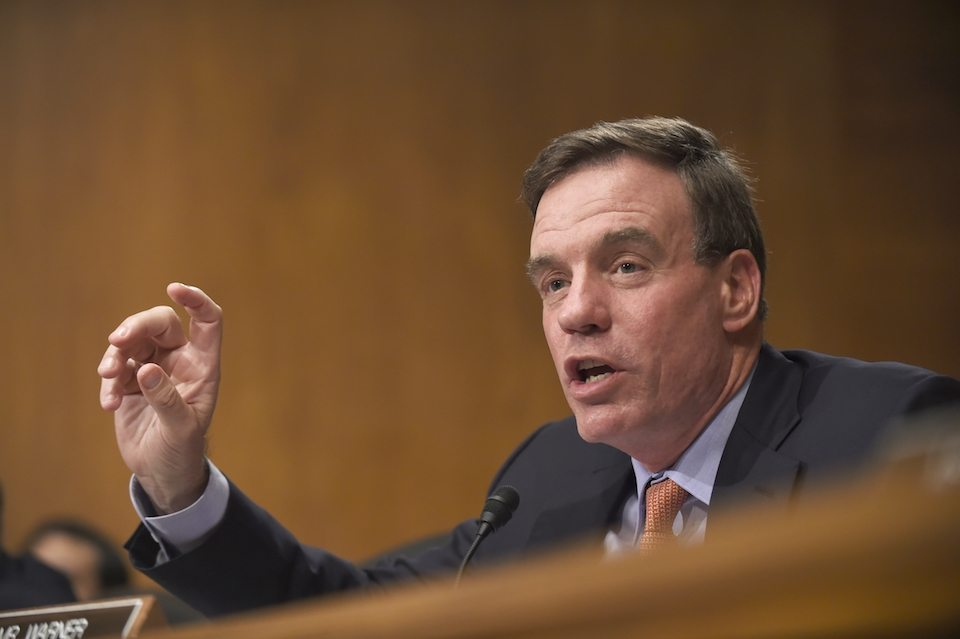 Sen. Mark Warner implores intel officials to put country before Trump