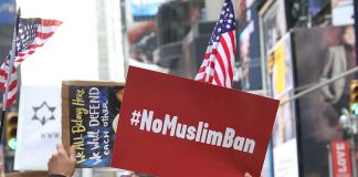 I Am Muslim Too Rally in NYC