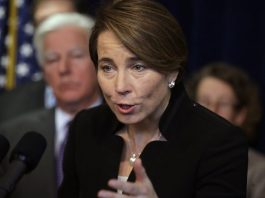 Massachusetts Attorney General Maura Healey is suing Trump.