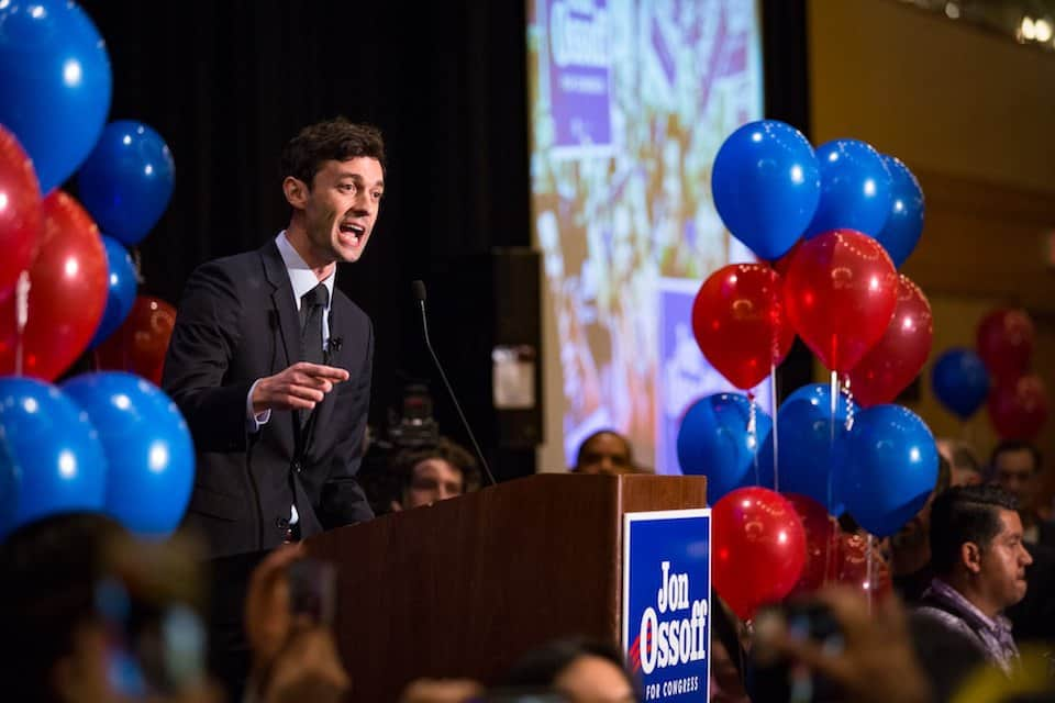 Ossoff party