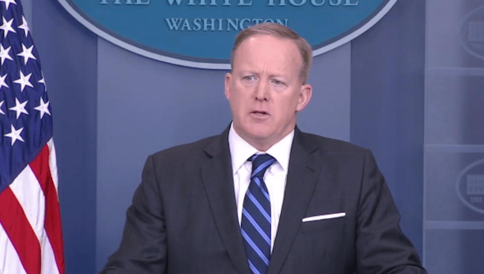 Spicer confused