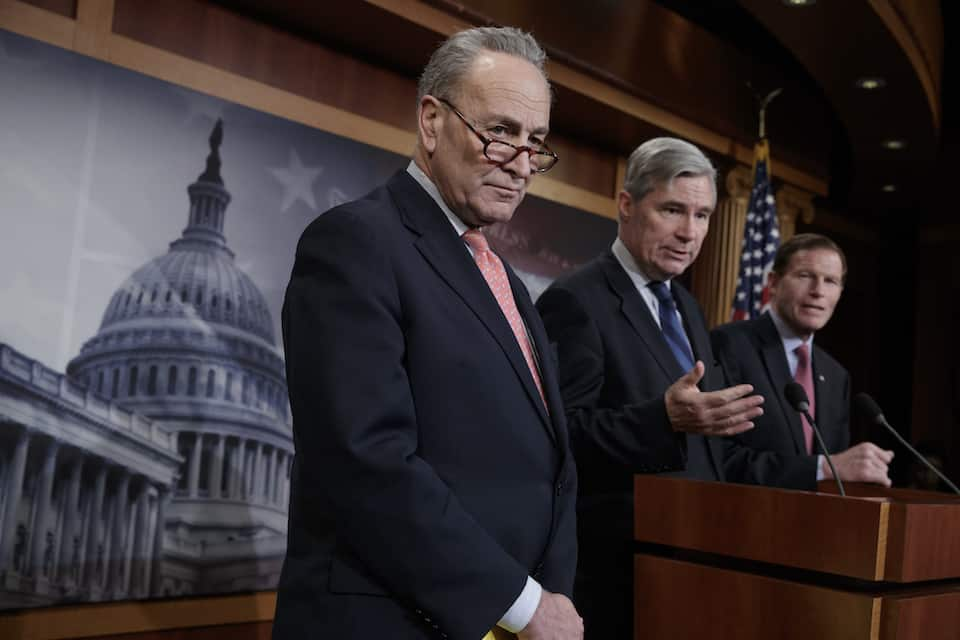 Chuck Schumer,Sheldon Whitehouse,Richard Blumenthal