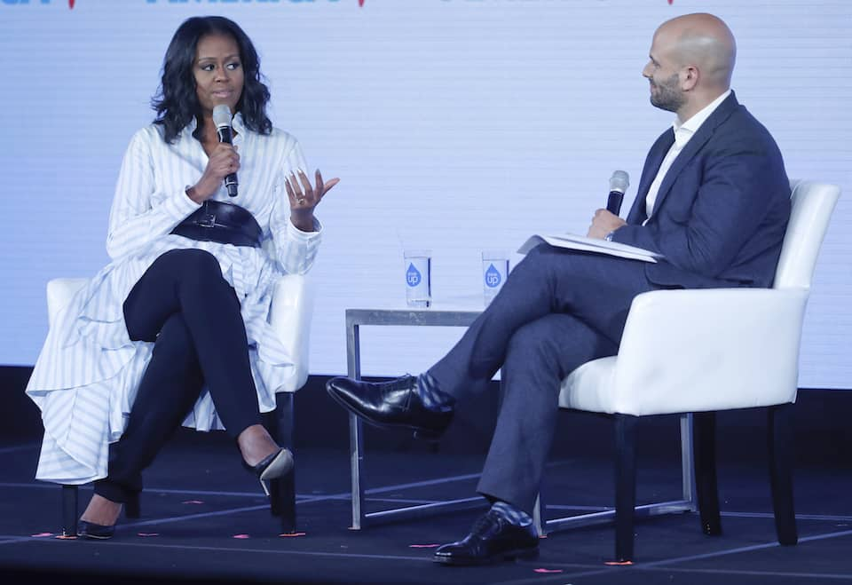 Michelle Obama,Sam Kass