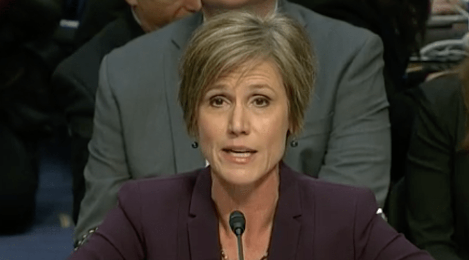 Sally Yates - CSPAN 1