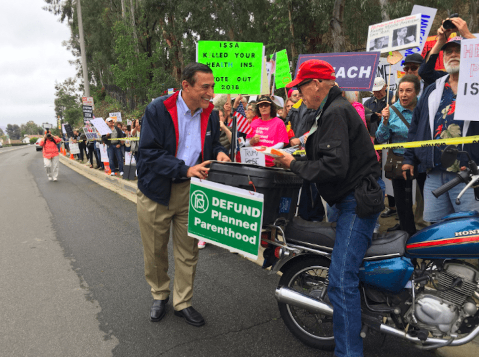 Up on the Roof, With Rep. Darrell Issa