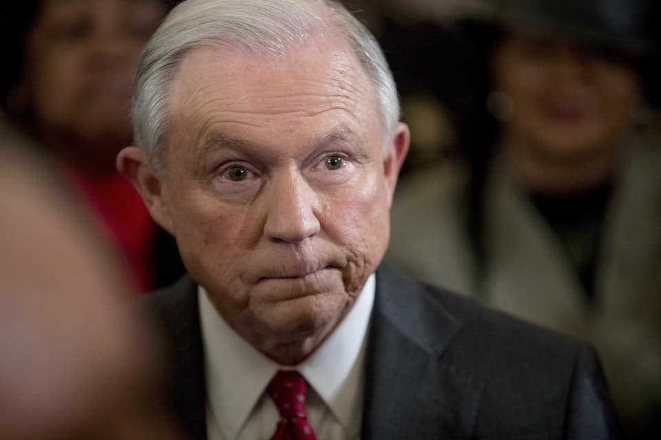 Sessions faces Senate today - in public
