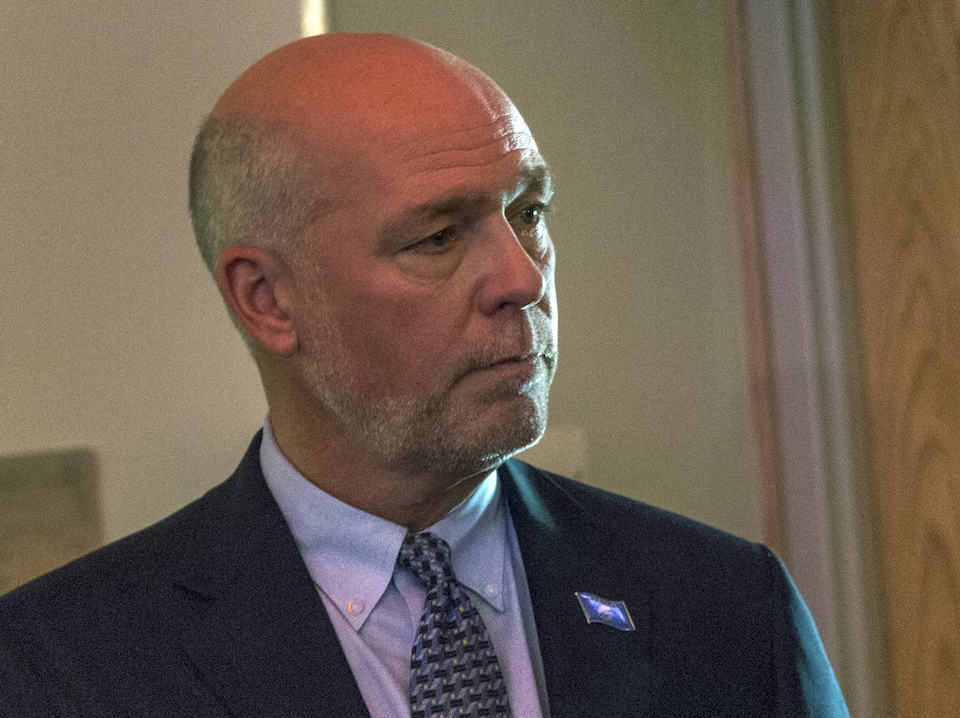 Montana GOP Rep. Greg Gianforte