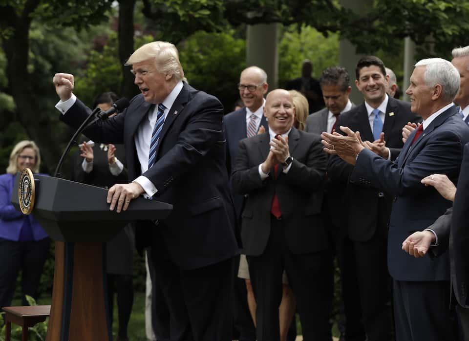 Donald Trump and Republicans