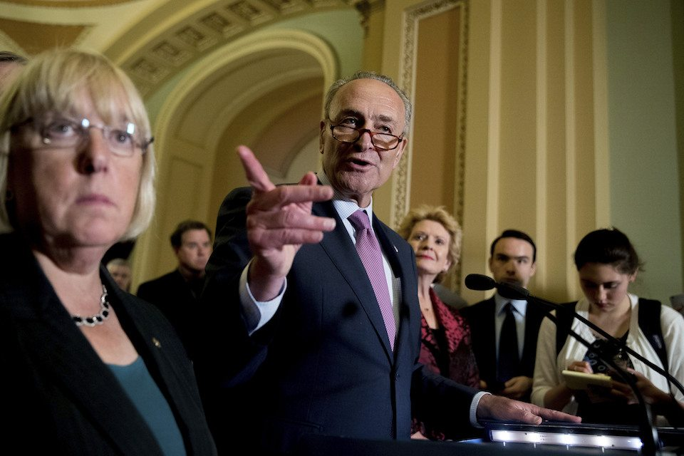 Patty Murray,Chuck Schumer,Debbie Stabenow