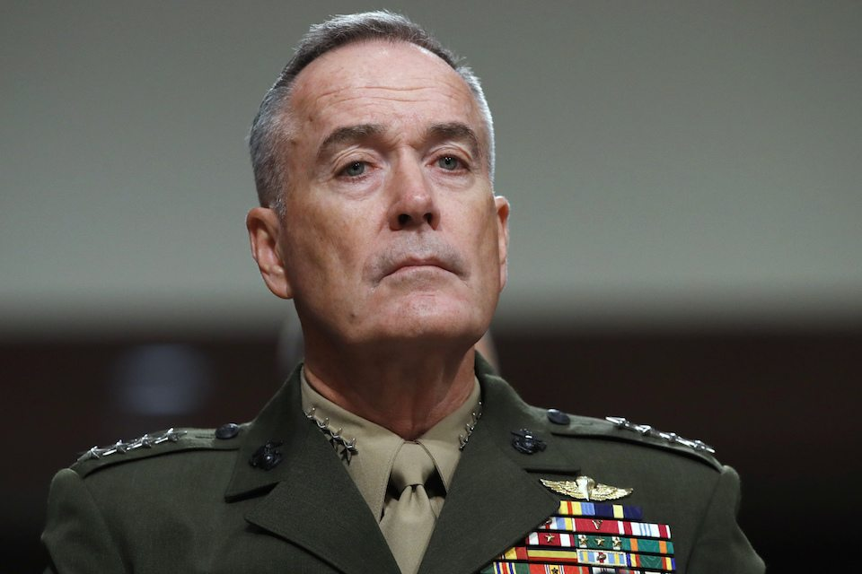 Gen. Joseph Dunford, chairman of the Joint Chiefs of Staff
