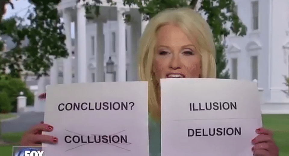 Kellyanne Conway flash cards