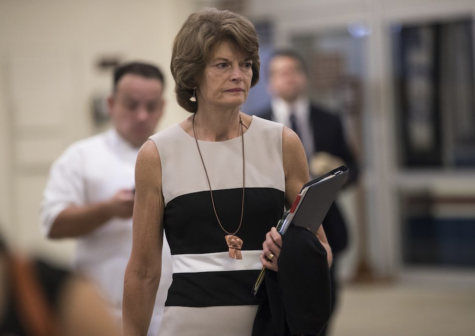 Alaska Sen. Lisa Murkowski voted against the health care bill, and now Trump wants to punish her whole state.