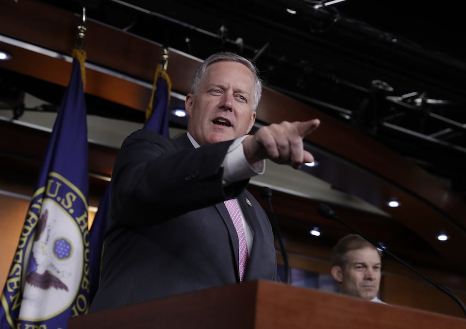 Rep. Mark Meadows, chairman of the uber-conservative House Freedom Caucus