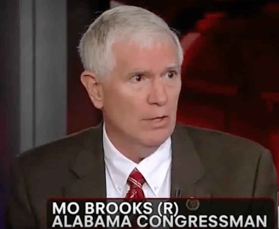 Mo Brooks Uses Congressional Shooter Footage