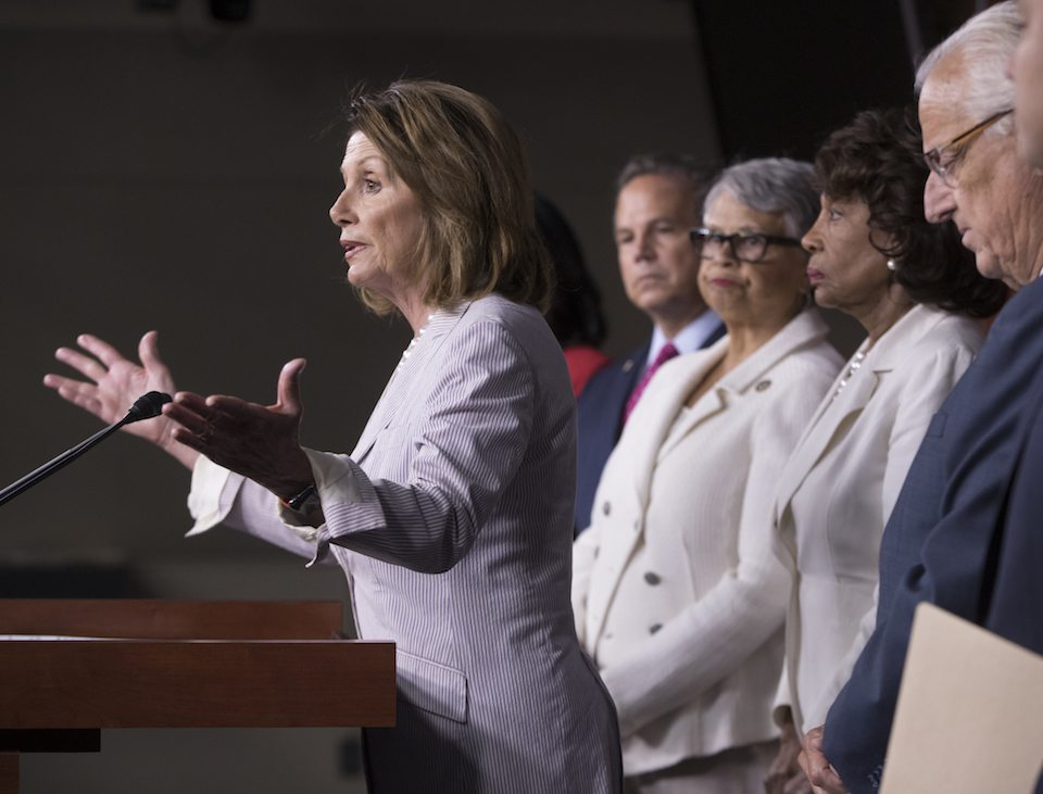 Nancy Pelosi,David Cicilline,Bonnie Watson Coleman,Maxine Waters,Bill Pascrell