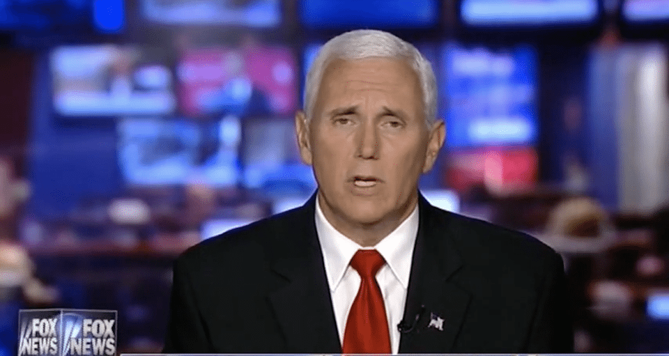Pence on Fox News