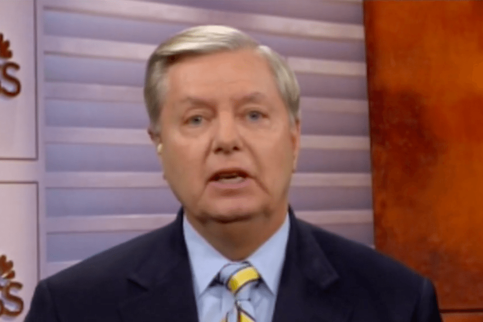 South Carolina Republican Sen. Lindsey Graham