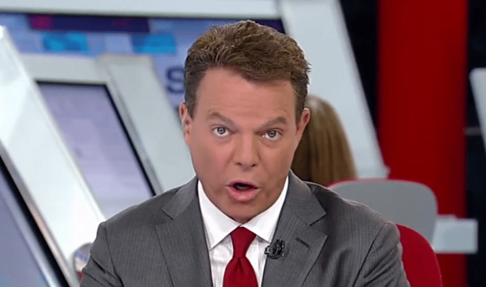 Fox News host Shepard Smith is in disbelief