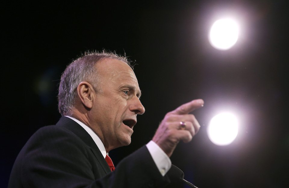 Rep. Steve King, author of the latest bill to ban abortion