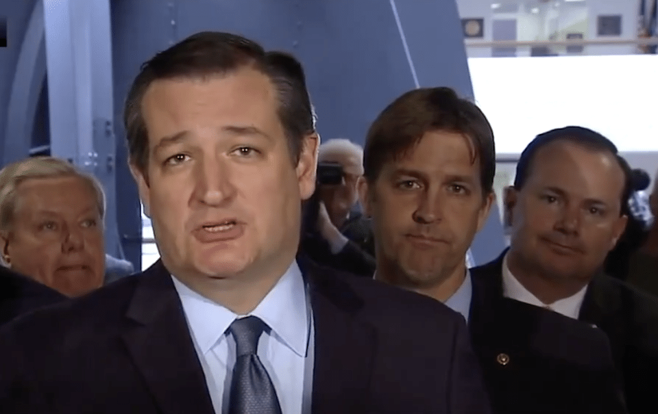 Ted Cruz and GOP senators