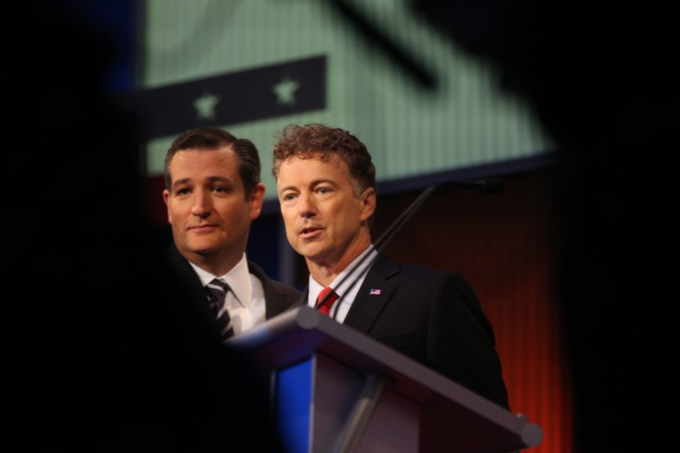 Ted Cruz and Rand Paul: traitors to their party and country, according to Fox News.