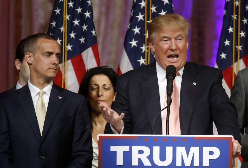 Donald Trump,Corey Lewandowski