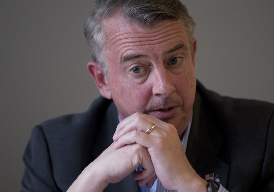 Virginia Republican gubernatorial candidate, Ed Gillespie