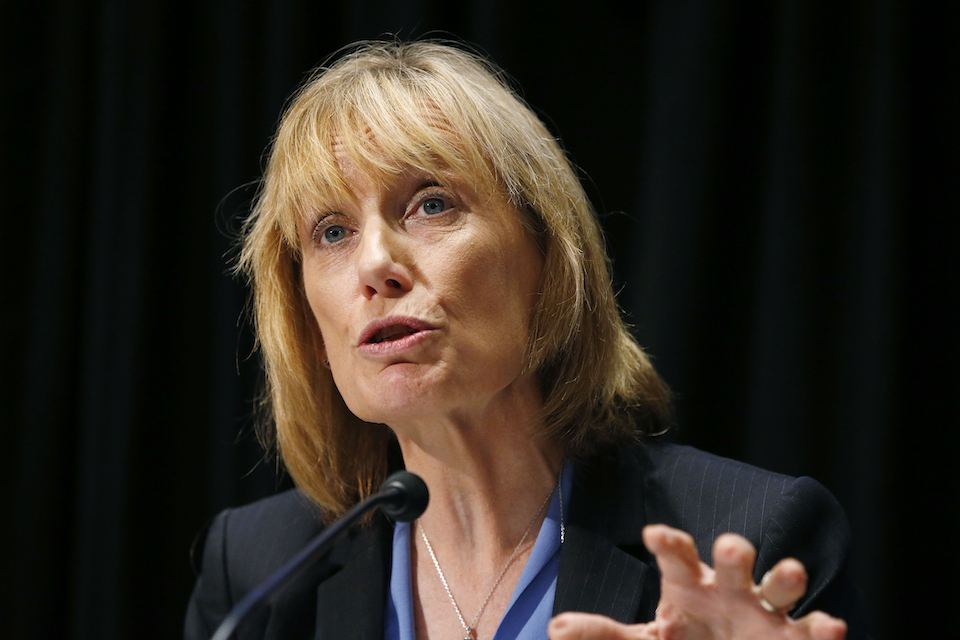 New Hampshire Democratic Sen. Maggie Hassan