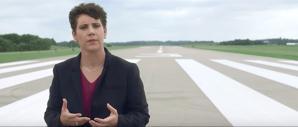 Fighter pilot candidate in Kentucky rips GOP for covering for Trump in scorching new ad