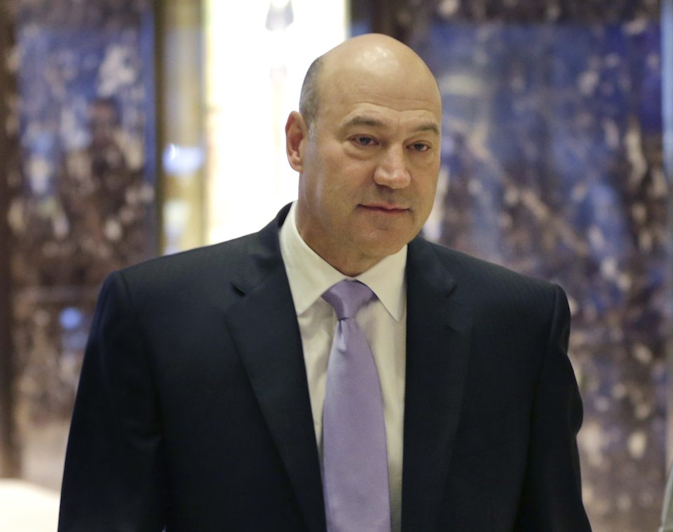Gary Cohn, Trump's chief economic adviser