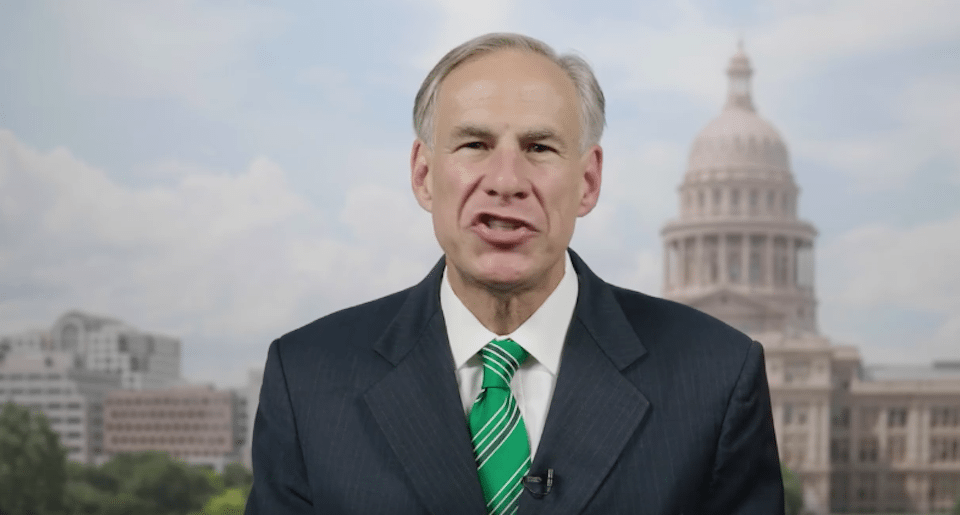 Texas Republican Gov. Greg Abbott's pandering to the NRA cost a law enforcement officer his life