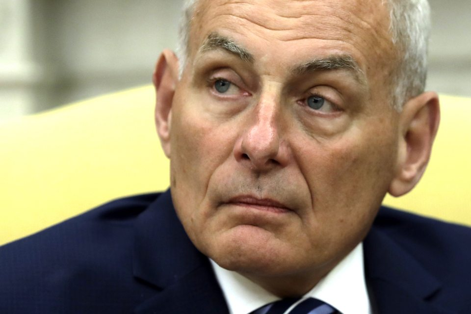 John Kelly's first day as White House chief of staff was a ...