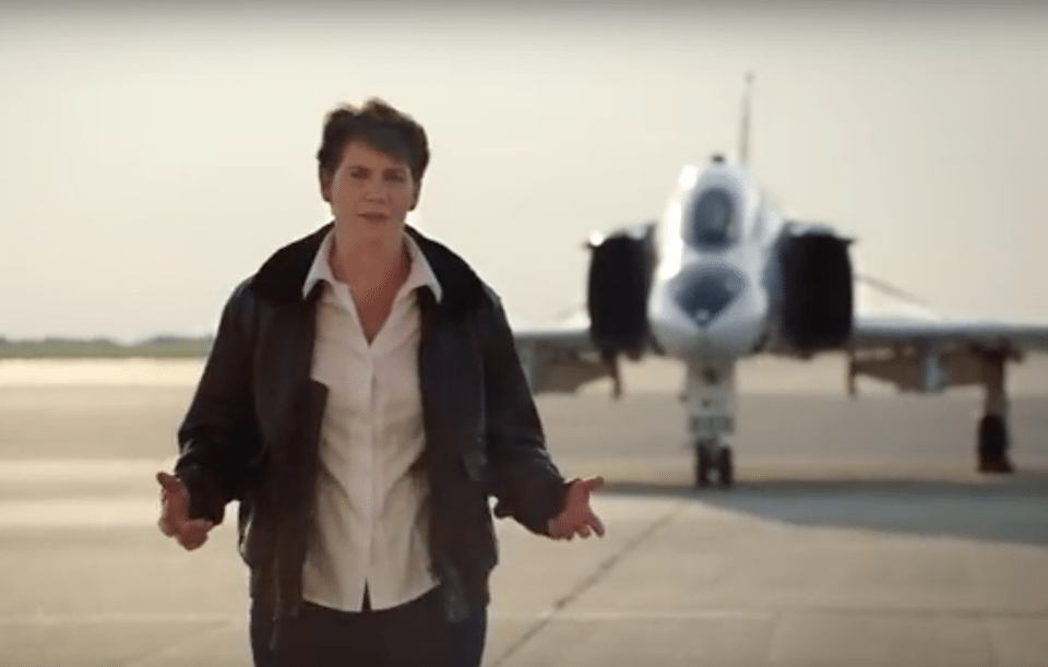 Kentucky Democratic Congressional candidate Amy McGrath