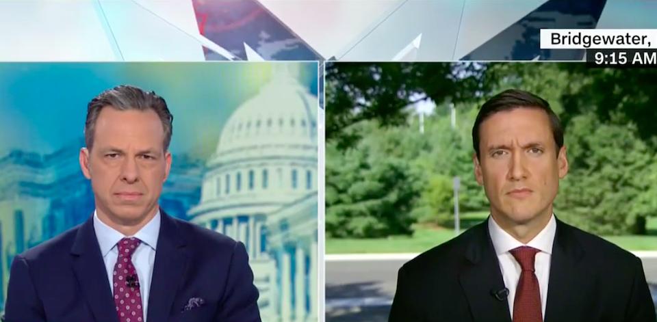 CNN host Jake Tapper speaks to Homeland Security Adviser Tom Bossert