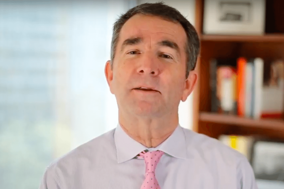 Virginia Lt. Gov. Ralph Northam, Democratic candidate for governor