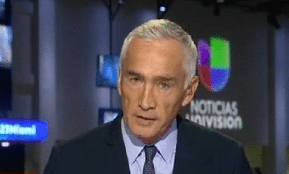 Univision anchor and journalist Jorge Ramos
